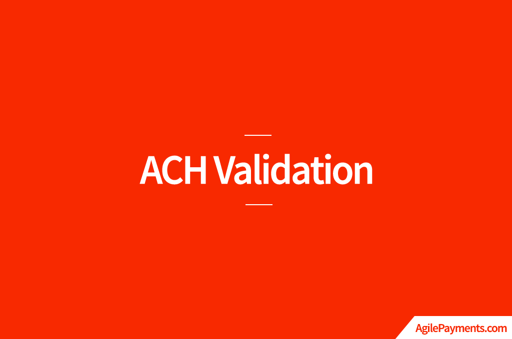 ACH-Validation