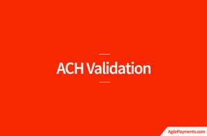 ACH-Validation