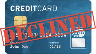 Credit Card Declines