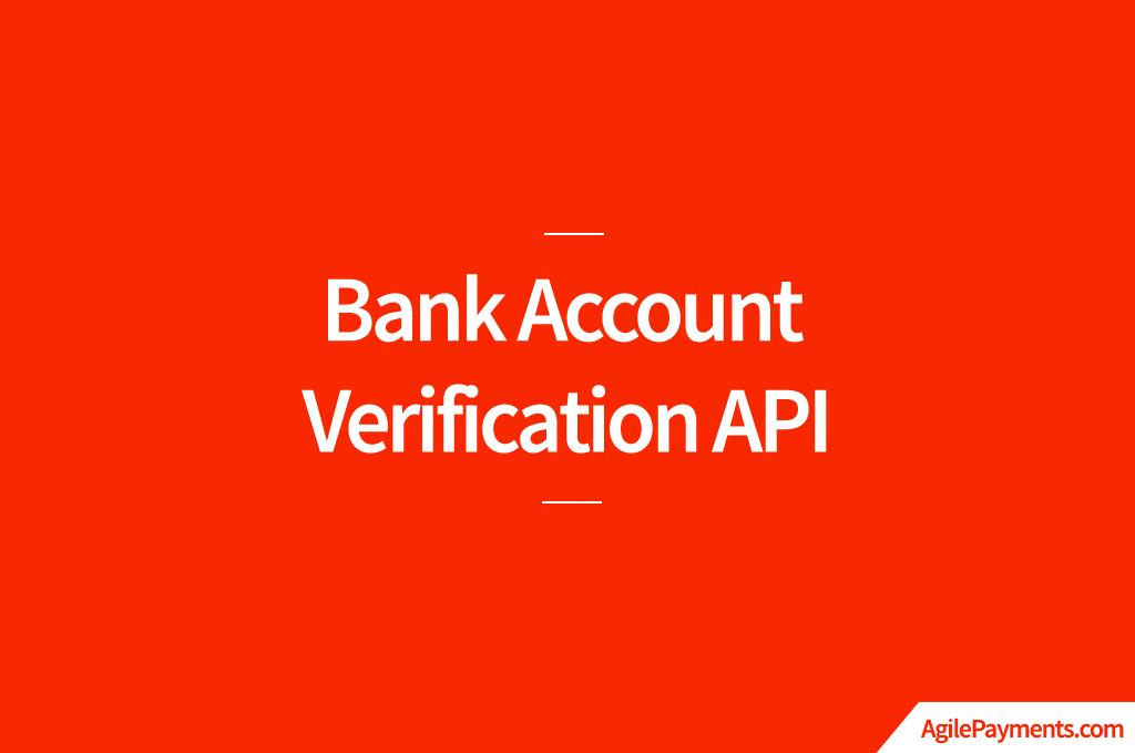 BankAccount-Ver API