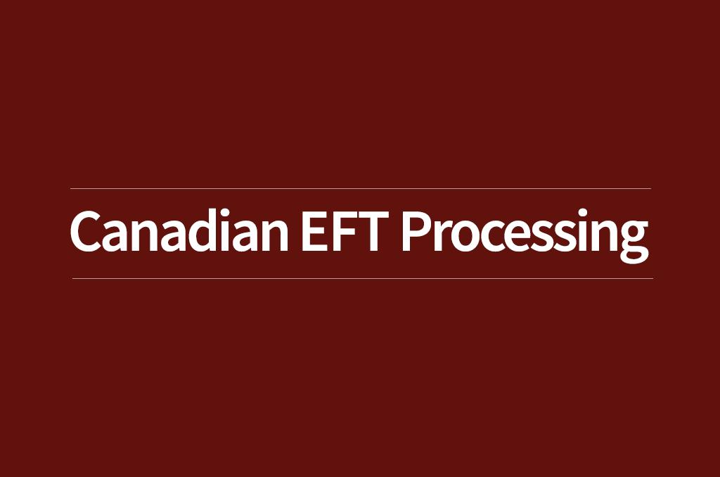 Canadian EFT