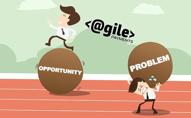 picture of two businessmen handling opportunity and problems