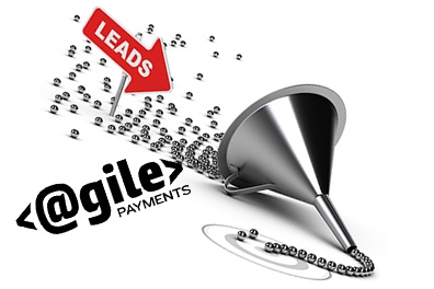 Image of funnel depicting sales leads
