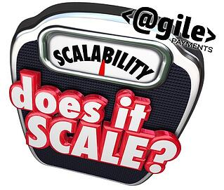 "Scale with ""scalability"" written on it"